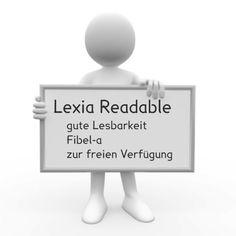 Schriftart: Lexia Readable