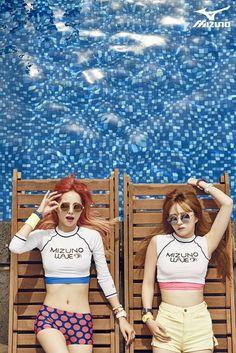 EXID - Mizuno Korea Pictorial