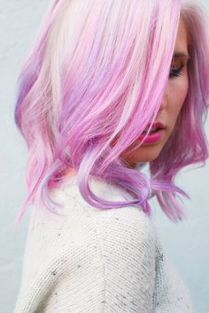 We're suckers for pretty in pink pastel hair Pastel Purple Hair, Pink Hair, Pink Purple, Color Fantasia, Opal Hair, Coloured Hair, Mermaid Hair, Dream Hair, Crazy Hair