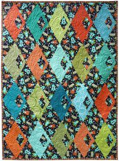 Diamond Detour Quilt Pattern