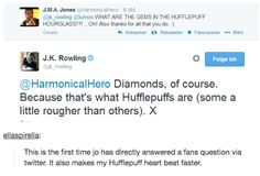 This time we celebrated that Jo called us diamonds. | 13 Tumblr Posts That Will Make You Proud To Be A Hufflepuff