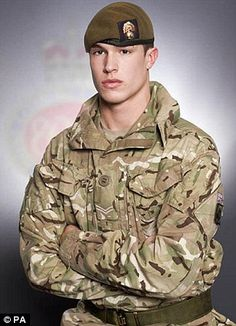 Courage: Lance Corporal James Ashworth is only the tenth British soldier to be awarded the Victoria Cross since the Second World War