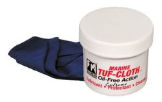 """Marine TUF-CLOTH 12"""" x 12"""" Screw top jar by Sentry Solutions. $9.95. ? Clean ? Lubricate ? Protect   Micro-Bonding Oil-Free Shield, will not Attract Dirt. Developed on request from Navy SEALs - based on TUF-CLOTH but formulated with additional ingredients to boost protection against highly corrosive saltwater and high humidity. Delivers heavy-duty bonded protection- proven in combat but gentle enough for collectibles and exotics. Long lasting, lint-free impregnated durable cl..."""