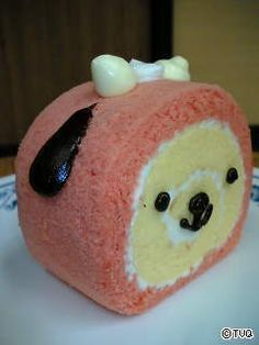 Animal Face Cake Roll