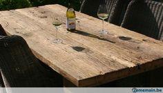 Vieux bois dur brossé naturel terrasse palissade carport