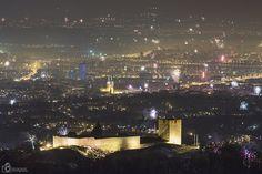 New Year in Zagreb, Croatia