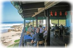 This has got to be the restaurant with one of the best views on the entire south coast! Casual, relaxed eating on the deck at Southbroom Margate Restaurants, Long Holiday, Cape Town, Nice View, Wonderful Places, South Africa, Beach House, Coast, Deck