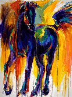 Horse Painting. Beautiful!!