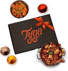 Tyga Indian meal kit subscription - from £10.99, Tyga