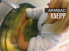 Kneipp Armbad Klick für vergrößern und teilen Ayurveda, Blogging, Health Magazine, Natural Medicine