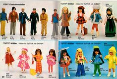 1970s Barbie booklet