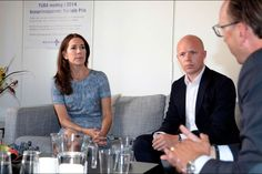 Crown Princess Mary visited the TUBA in Copenhagen, Denmark On August 18, 2015
