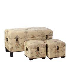 pufs #vintage de #oferta hoy en hogaresconestilo.com #hogar  #deco #decoración