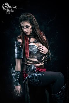 Guild Wars 2 Cosplay : Norn Armor 6 by Deakath on DeviantArt Fantasy Women, Dark Fantasy, Cosplay Outfits, Cosplay Costumes, Dnd Elves, Guild Wars 2, Best Cosplay, Awesome Cosplay, Arm Armor
