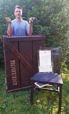 WILD ABOUT HARRY: David Haversat lands Houdini's spirit slates & cha...