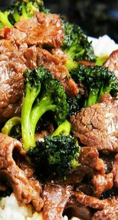 Better Than Takeout! Beef and Broccoli Recipe ~ The tender, thin slices of beef are so juicy, so flavorful as they soak up every savory essence of the marinade, and then the sauce; oh the sauce!  Its rich, slightly sweet, mostly savory, and just so right!
