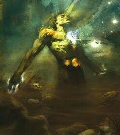 Éter a Personificaçãodo Ar Celestial, um dos Primordiais.  Éter é o Ar puro respirado pelos Deuses! Pai das Néfeles as Ninfas das Nuvens...