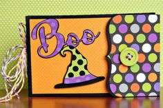 It's my life: Halloween String Tied Mini Pocket Album