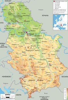 Tibet And Surrounding Areas Topographic Map MAPS Pinterest - Topographic map of austria 2008