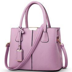 Classy Leather Shoulder Handbag