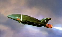 The Thunderbird 2 from Gerry & Sylvia Anderson's UKTV show Thunderbirds, which ran from 1965-66.