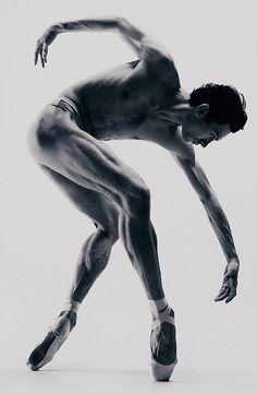 Untitled ballet dancer by Vadim Stein #legmuscles