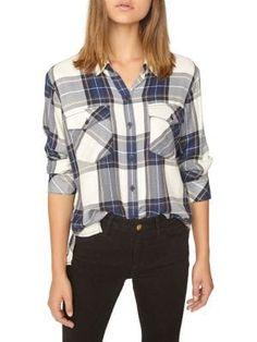 58778f0ab7 Lucky Brand - Boyfriend Plaid Shirt