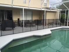 Waterford Lakes Pool Fence - Keep your family pool safer with Baby Barrier pool fence. #PoolFence #PoolSafety #BabyBarrier