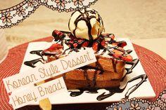 Korean Dessert Honey Bread : 허니브레드 | Coco's Simply Cooking