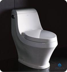 Fresca FTL2133 Volna One Piece Contemporary Toilet