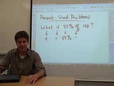 13 - Percent Word Problems (1)
