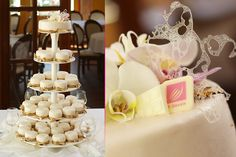 Monaco Wedding Cake - T. Monaco, Fairytale, Wedding Cakes, Place Cards, Place Card Holders, Sweets, Table Decorations, Food, Sweet Pastries