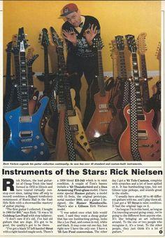Rick's guitars