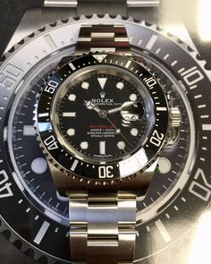 Buy the Rolex Sea-Dweller 4000 126600 at a big discount to retail price. Rolex Watches For Men, Sport Watches, Dream Watches, Luxury Watches, Sea Dweller, Cost Of Goods, Rolex Day Date, Pre Owned Rolex, Rolex Submariner
