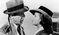 "In Casablanca, the crisis – an essential element to a well-written film – is that Rick (Humphrey Bogart) has to confront and overcome his selfishness (""I stick my neck out for no man""). Photograph: Allstar/Cinetext/Warner Bros"