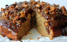 Receita de Bolo de Caramelo com Nozes | Doces Regionais
