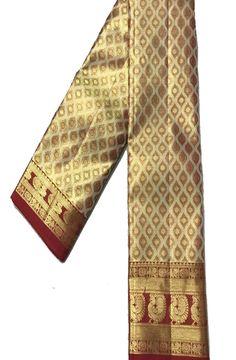 Buy Golden Handloom Kanjeevaram Pure  Silk  Saree-/LWKPSRAM45_Golden_Handloom_Kanjeevaram_Pure_Silk_Saree1.jpg