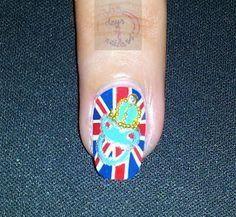 Royal Baby Nails