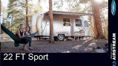 Check out the new 22 Airstream Sport at Woodland Travel Center - YouTube Airstream Sport, Travel Center, Vintage Airstream, Recreational Vehicles, Woodland, Restoration, Sports, Youtube, Check