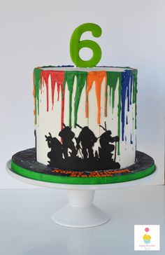 TMNT Cakes - Cake by SugarBritchesCakes