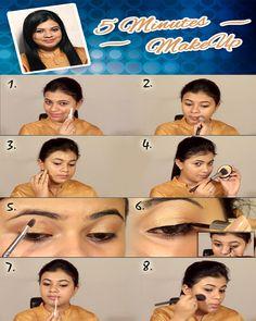 5 Minute Makeup, Makeup Tips, Make Up, Watch, Youtube, Clock, Bracelet Watch, Make Up Tips, Makeup