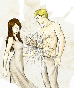 Juliette Ferras and Aaron Warner