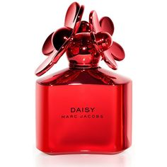 Marc Jacobs Daisy Shine Red Eau de Toilette Spray, 3.4 oz (29.905 HUF) ❤ liked on Polyvore featuring beauty products, fragrance, perfume, makeup, beauty, pink, no color, marc jacobs fragrance, perfume fragrance and marc jacobs perfume