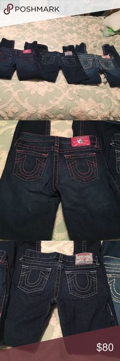 Hey bundle of true religion jeans for little girls A bundle of true religionJean jeans for little girls great condition all skinny jeans True Religion Jeans Skinny