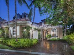 Beach Villa on La Palma Lane.  Villa la Palma at Bay Colony | Naples, Florida