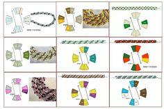 Kumihimo beads patterns