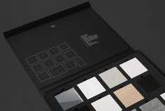 Material sample pack by Studio Brave for East Melbourne apartments George + Powlett