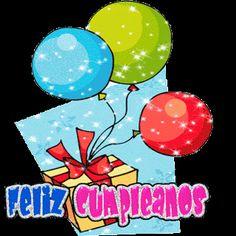 FrasesparatuMuro.com: Gifs de Feliz Cumpleaños