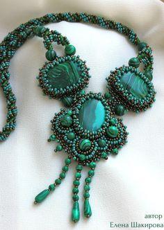 malachite necklace € 50