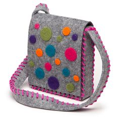 Fun is definitely in the bag with this kit. It includes everything they'll need to make a stylish purse: colorful die-cut wool pieces they can felt to create their own design. The kit also includes fe